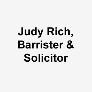 Judy Rich, Barrister & Solicitor
